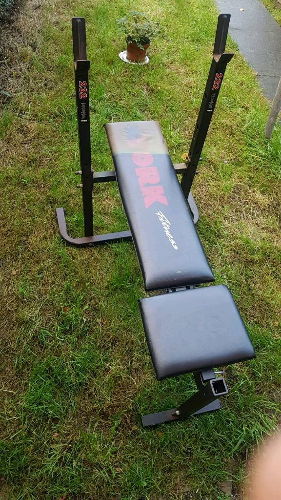 gym chest chair how to slipcover a with arms york bench in derby derbyshire gumtree