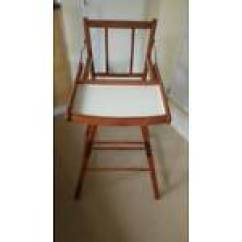 Retro High Chairs Babies Aeron Office Chair Vintage Baby Toddler For Sale Gumtree Wooden