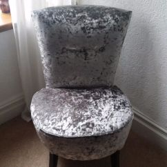 Recliner Chairs Gumtree Swing Chair With Stand India Silver Crushed Velvet Round Bedroom | In Pontypridd, Rhondda Cynon Taf