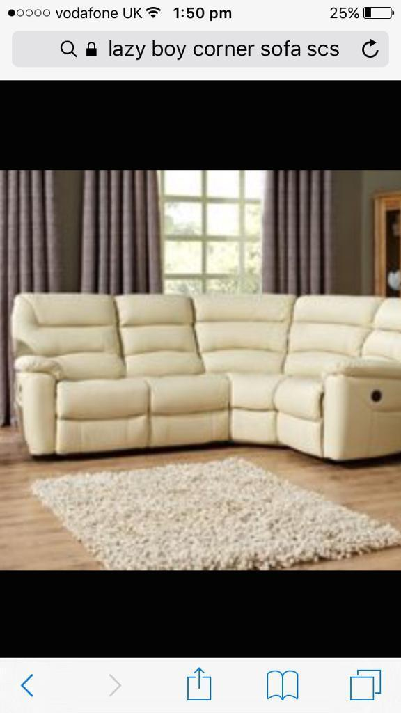 lazy boy corner sofa uk fabric sofas melbourne lazyboy power recliner in mattishall norfolk gumtree