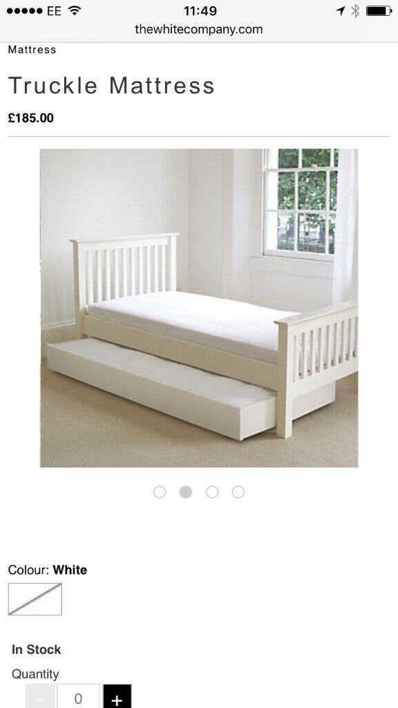 The White Company Middleton Single Truckle Mattress