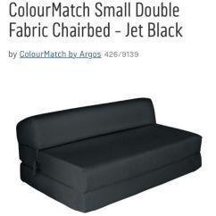 Folding Chair Bed Argos Star Trek Plans Black Sofa In Larkhall South Lanarkshire Gumtree