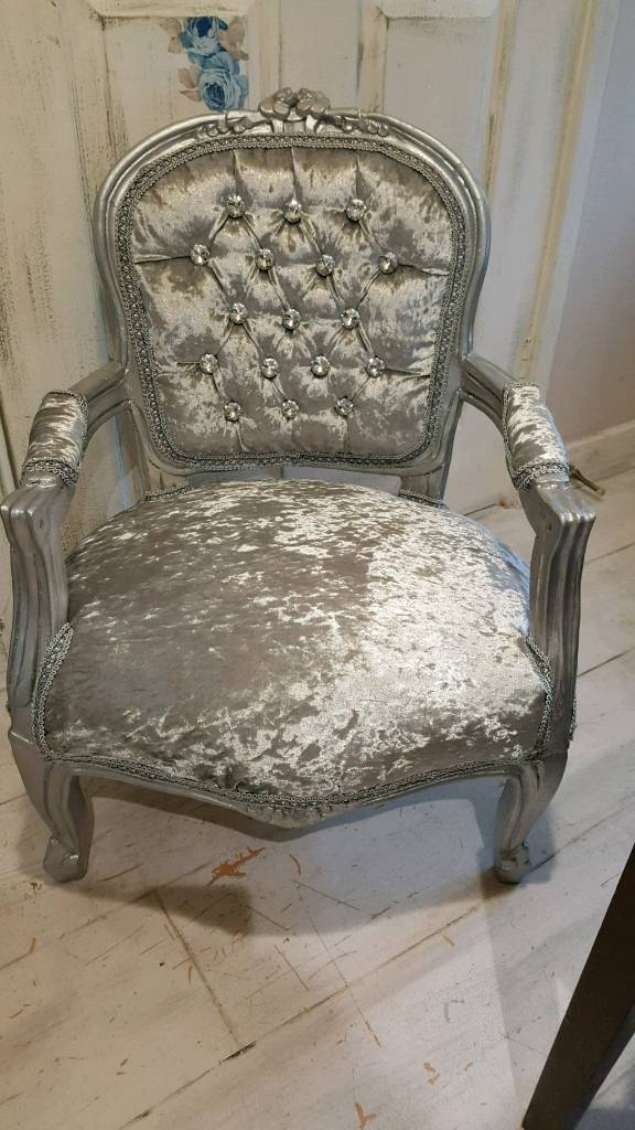 french louis chair folding yellow kids in waterlooville hampshire gumtree
