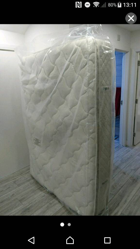 Double Bed Mattress By Hypnia Pocket Sprung And Memory Foam Layer