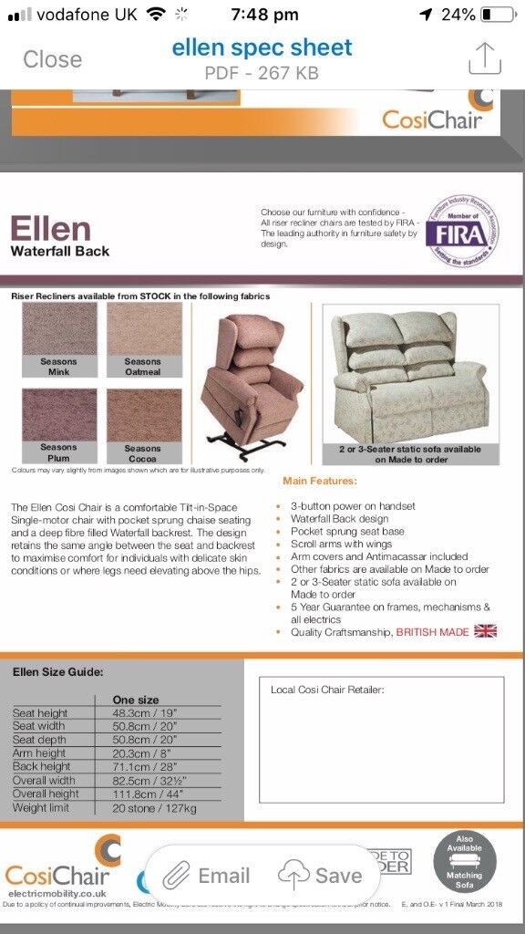 british mobility chairs revolving chair surat ellen electro in hull east yorkshire gumtree