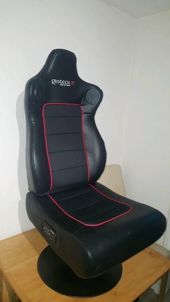 gioteck rc5 gaming chair how to make bean bag diy in livingston west lothian gumtree