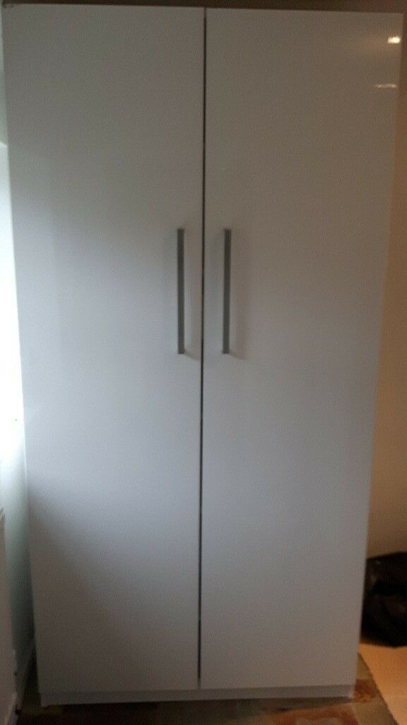 Ikea Pax Wardrobe 100x60x201 Cm With Shelves And Drawer In Canterbury Kent Gumtree
