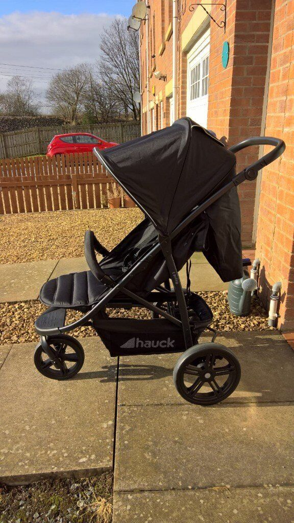 Buggy Hauck Rapid Hauck Rapid 3 Wheel Pushchair Barely Used Includes Two