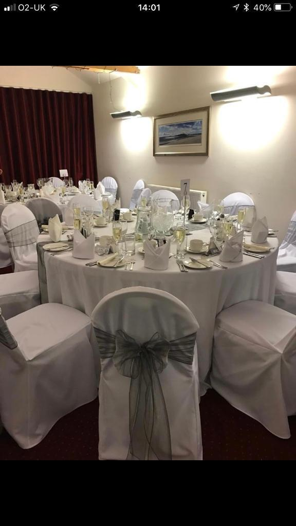 silver chair covers uk mats for hard floors 200 2000 sashes 10 vases mirror plates