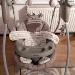 Graco Swing Chair Zebra Racer Gaming Canada Ziggy Baby In Acocks Green West Midlands