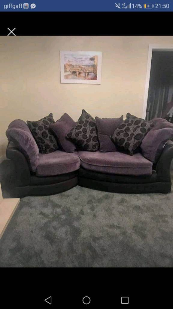 leona 3 seater recliner sofa modern company reviews in lostock hall lancashire gumtree