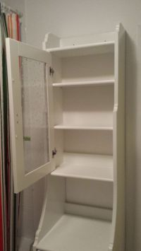 IKEA Flaren country style white wood and glass free ...