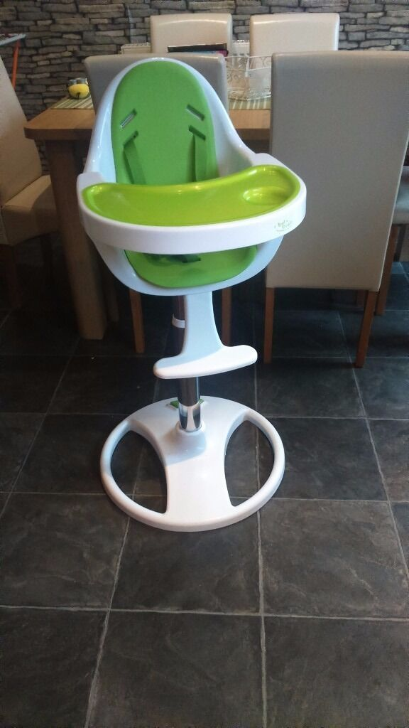 green high chair how much are gaming chairs baby style white in braintree essex gumtree