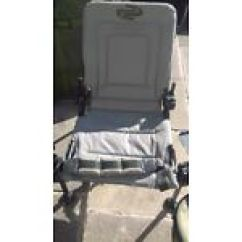 Fishing Chair Add Ons Bean Bag Lounge In Leigh Manchester Equipment For Sale Gumtree Korum Reclining With