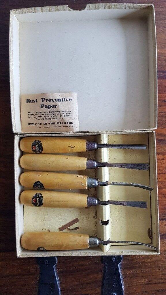 Marples Carving Tools 153