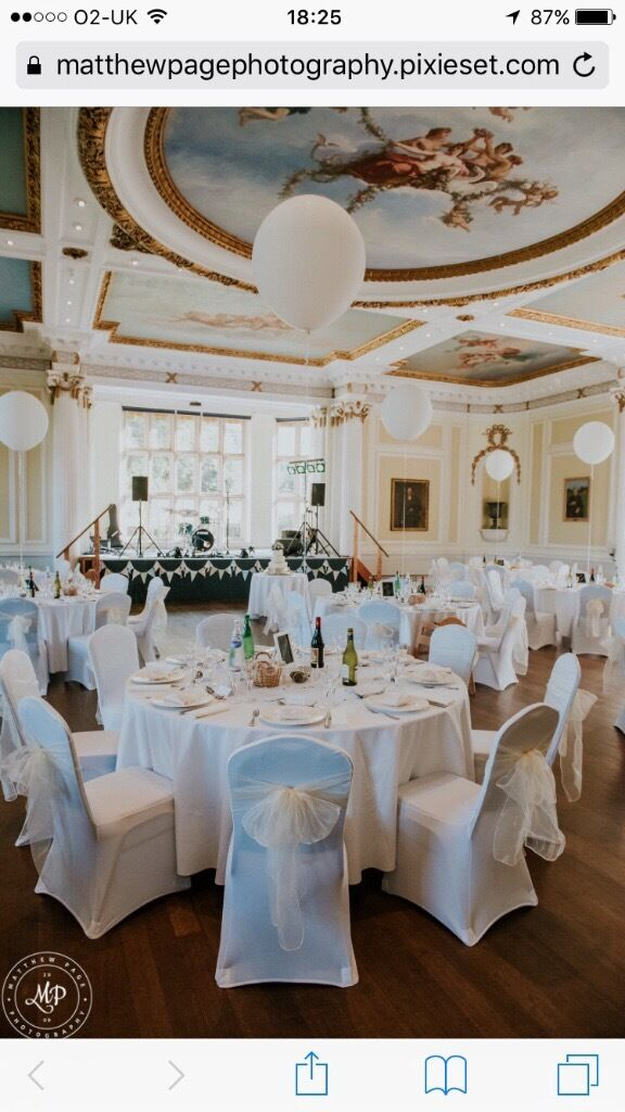 used wedding chair covers for sale uk chess table and chairs 120 white lycra once champagne sashes also available