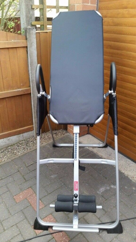 hanging upside down chair for back portable potty toddlers inversion table hang stretcher in sutton on sea