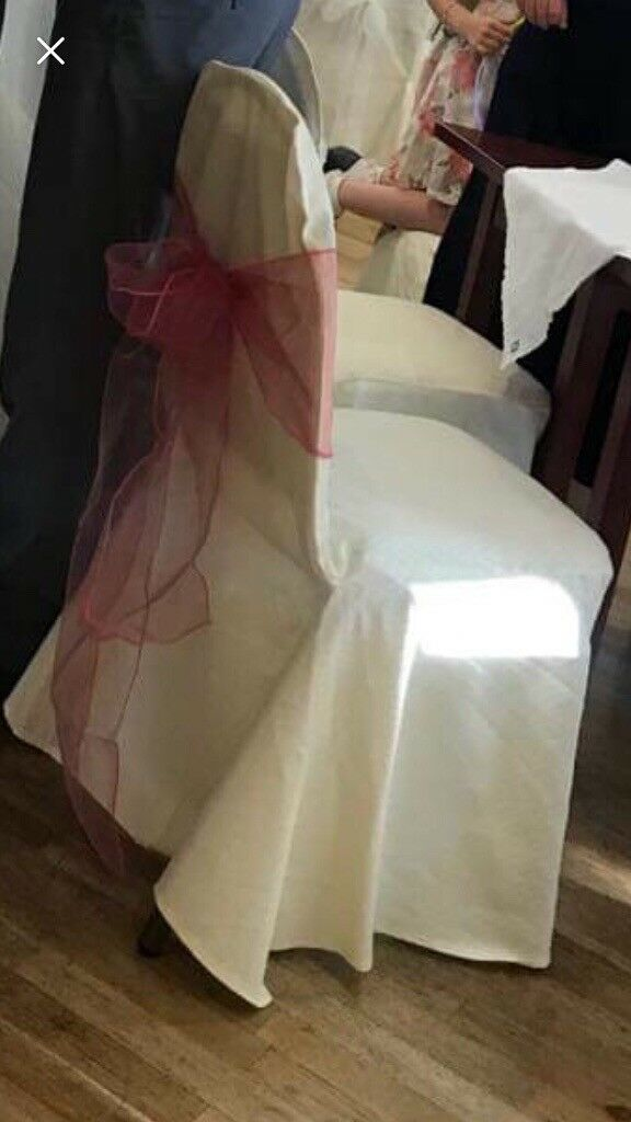 wedding chair covers eastbourne modern leather accent chairs cream x50 in aspley nottinghamshire gumtree