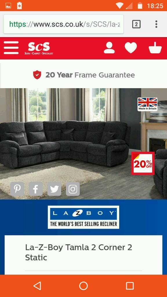 lazy boy corner sofa uk custom beds nyc la z in pudsey west yorkshire gumtree