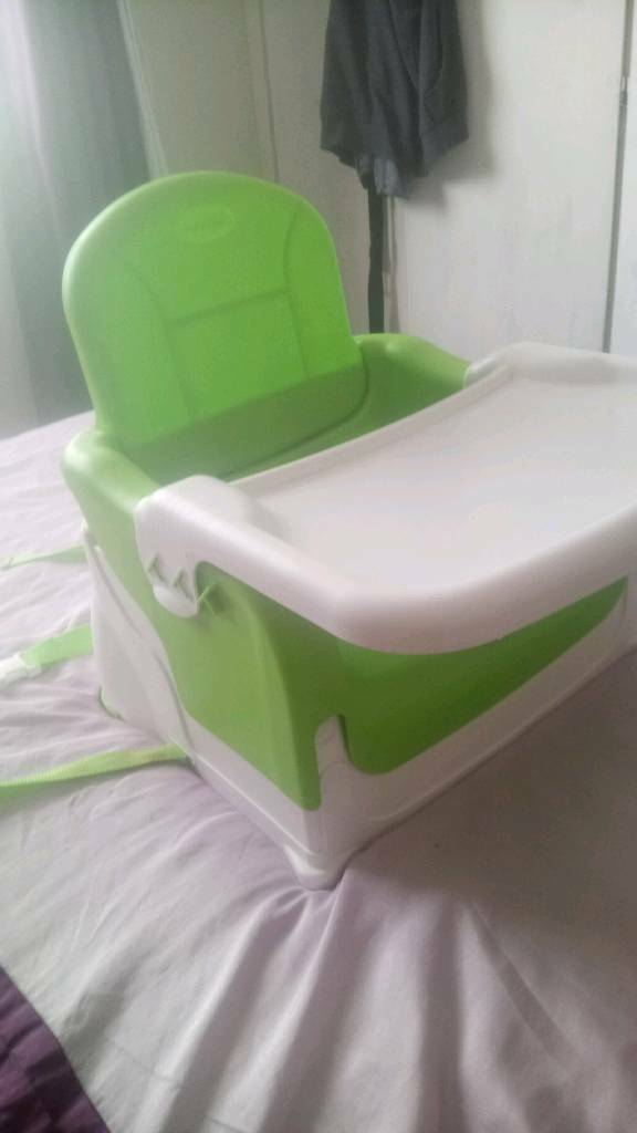 munchkin high chair desk pink in hull east yorkshire gumtree