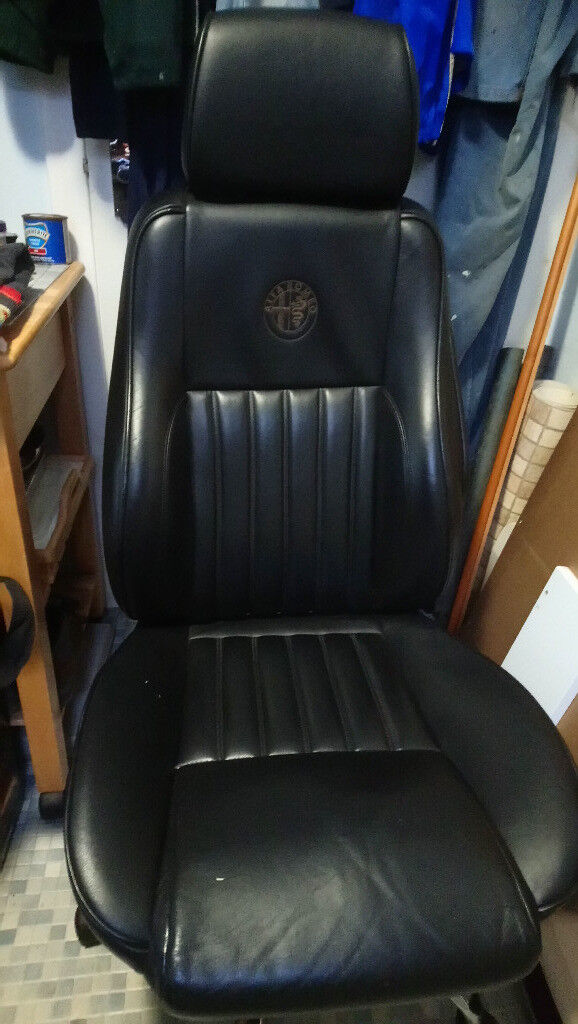 car seat desk chair conversion hanging bubble with stand alfa romeo 156 leather office in falkirk gumtree