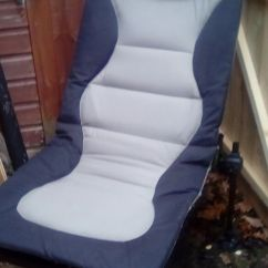 Fishing Chair Add Ons Blue Green Dining Chairs Korum In Faringdon Oxfordshire Gumtree