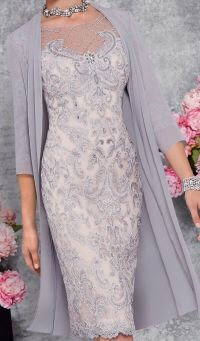 Mother of the Bride/Groom Veni Infantino Silver Grey/Blush ...