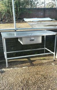 Stainless steel prep table with drawer | in Norwich ...