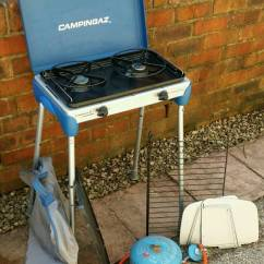 Campingaz Kitchen Chairs For Heavy People Camping With Full Gas Bottle In Polmont Falkirk