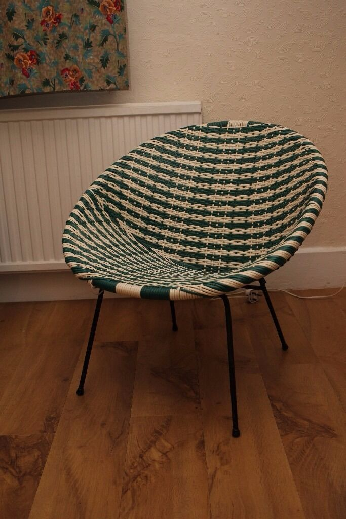 kitchen bench seating with storage equipment suppliers vintage 50s / 60s plastic woven lloyd loom satellite ...