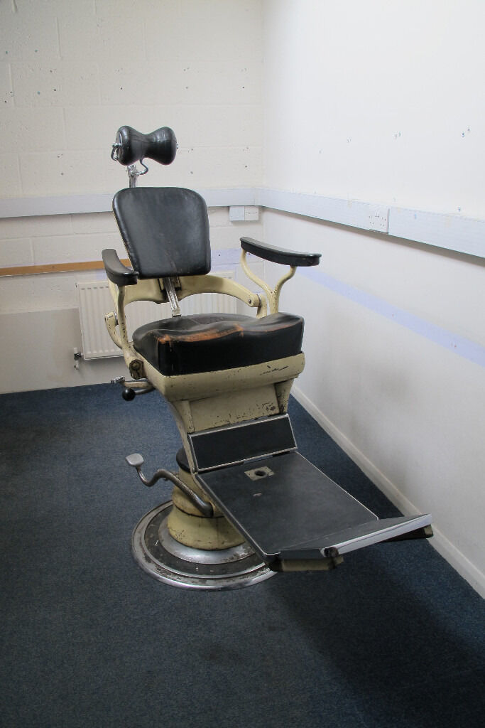 vintage dentist chair reclining arm sterling dentists for sale in finchley london