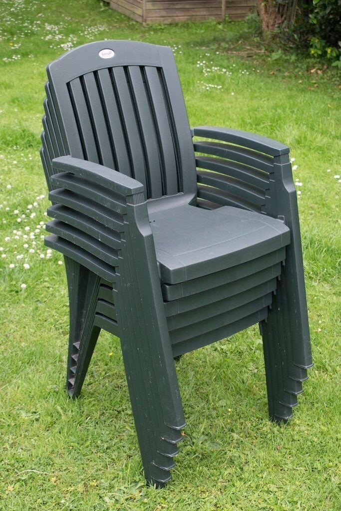 cane patio chairs blue chair bay rum cream calories set of six high quality hartman selection dark green plastic garden | in byfleet, surrey ...