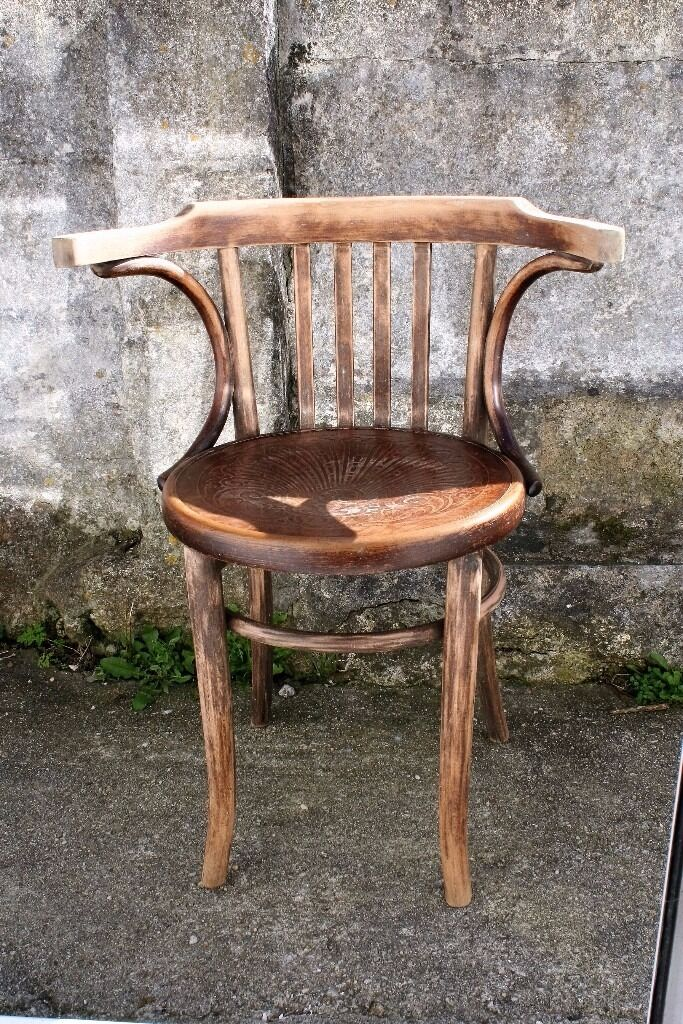 vintage bentwood chairs led table and fischel chair in truro cornwall gumtree