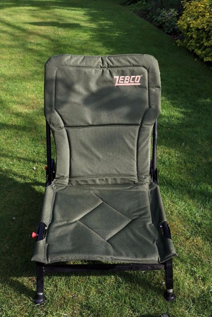 zebco fishing chair kitchen table chairs for sale in bedford bedfordshire gumtree