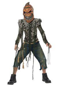 California Costumes Pumpkin Creature Monster Child Boys Halloween Costume 00632
