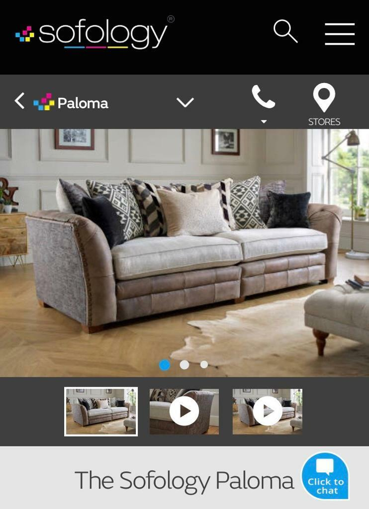 paloma sofa sofology andrew carter sofascore 4 seater 2 cuddle chair footstool in