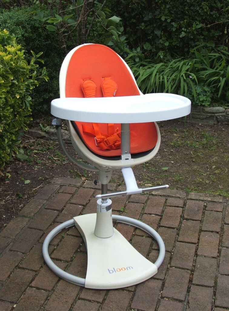 swivel high chair baby captains chairs for boats bloom fresco contemporary feeding can deliver