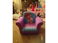 doc mcstuffins upholstered chair uk eames fiberglass rocking arm chairs for sale stuff page 40 41 gumtree children s mcstuffin