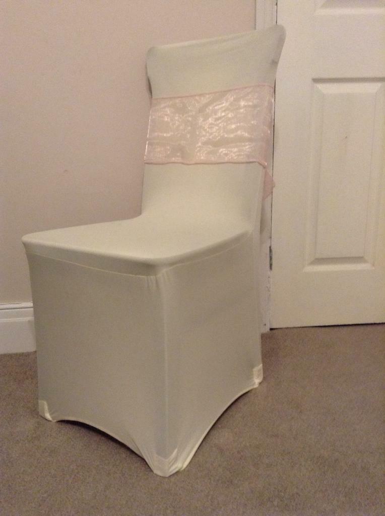 wedding chair covers pontypridd tripp trapp instructions spandex stretch and organza sash in wallsend tyne