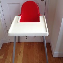 Ikea High Chair Swivel Dance Antilop In Red Loughborough Leicestershire