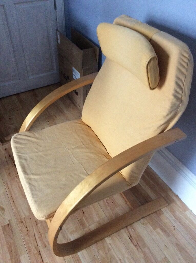 sofa seat cover design restoration hardware leather reviews ikea poang style chair | in tayport, fife gumtree
