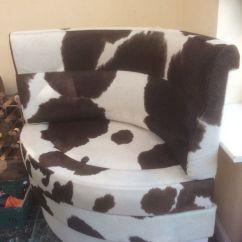 Bedroom Chair Gumtree Ferndown Wheel Price In Nepal Genuine Cow Hide Seat Dorset Rob