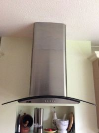 Kitchen hob extractor fan and light   in Ipswich, Suffolk ...