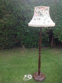 Vintage Wooden Floor Lamp | Atcsagacity.com