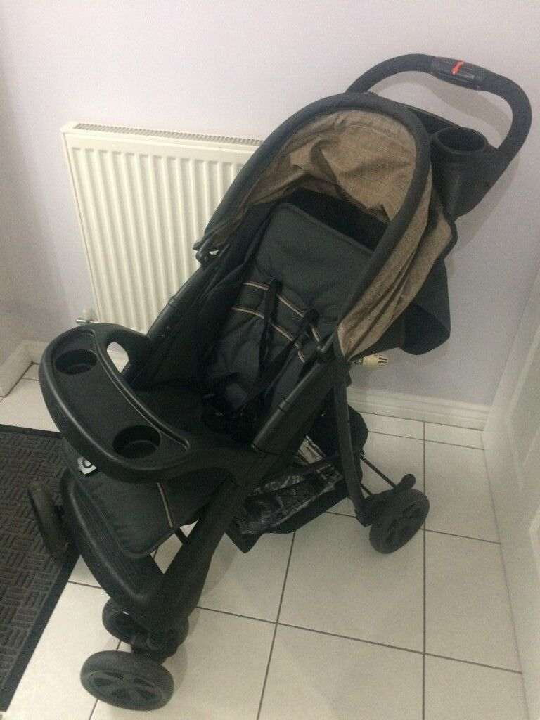 ee96aa9af9c Hauck Shopper Neo Pushchair With Raincover And Mosquito Insect Net