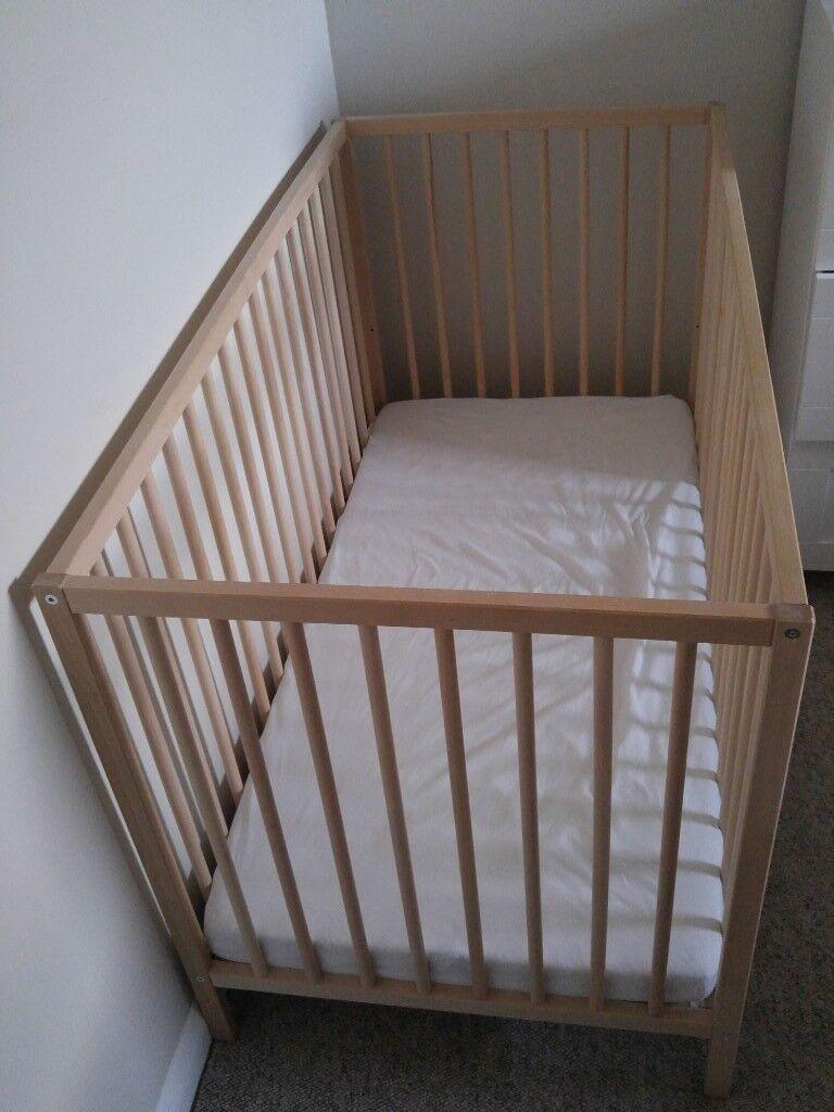 size 40 0e6fd 2b003 Ikea Baby Mattress Vyssa