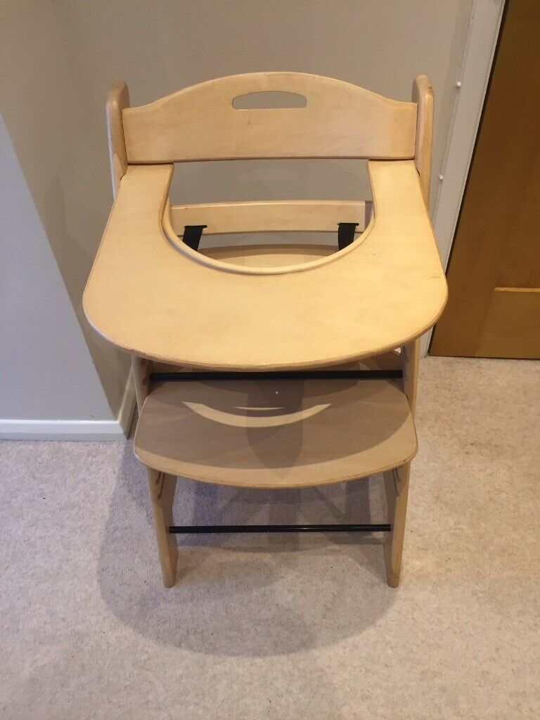 Wooden High Chairs For Babies Infant Wooden Chair