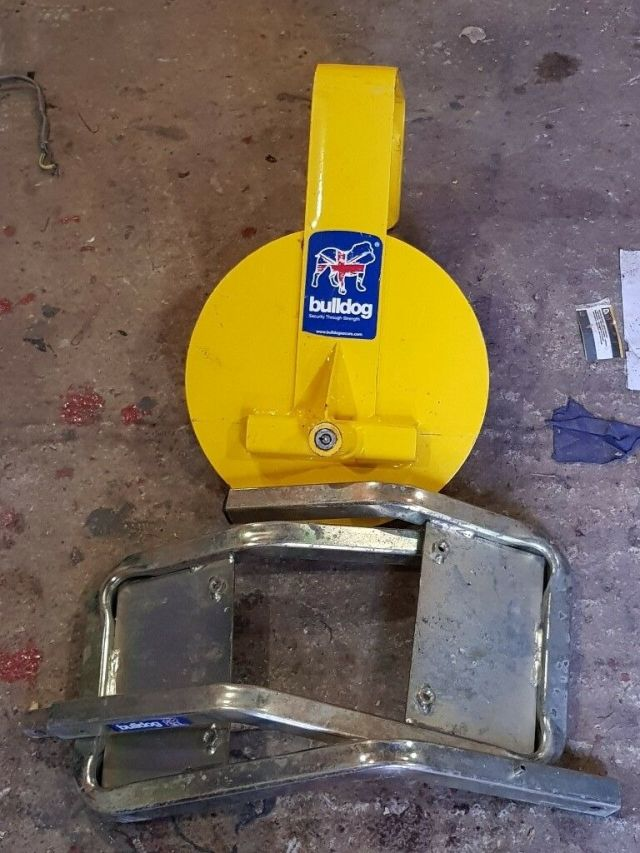bulldog qd33 wheel clamp   in auchinleck, east ayrshire   gumtree