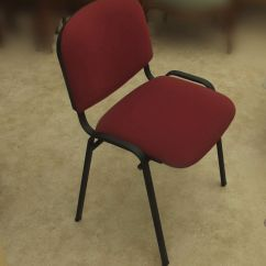 Office Conference Room Chairs Design Chair Lounge Burgundy Stacking 4 Off In Chalfont