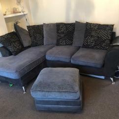 Corner Sofas Glasgow Gumtree Buy Online Uk Grey And Black Sofa In Blantyre